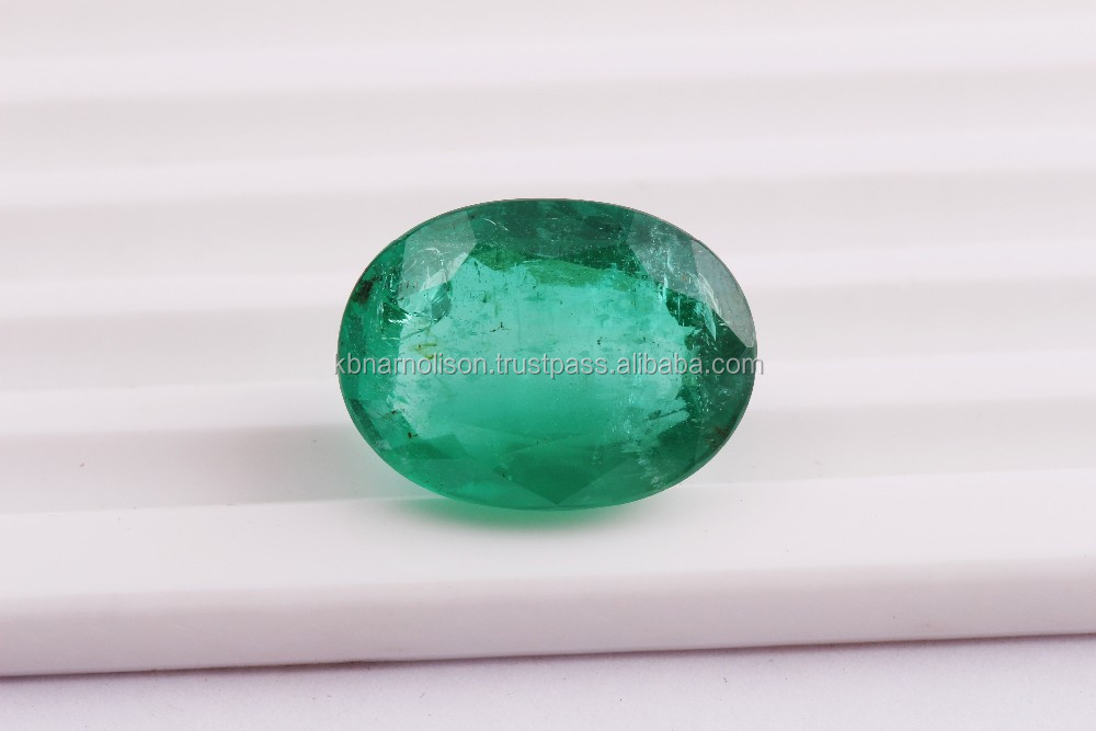 58 Pieces Square Cut Zambian Emerald Loose Gemstone Use