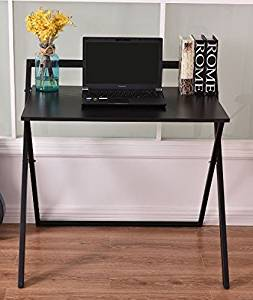 K&A Company Writing Computer Desk Table Home Office Laptop Furniture Workstation Side Storage Drawer Modern Folding Laptop Table