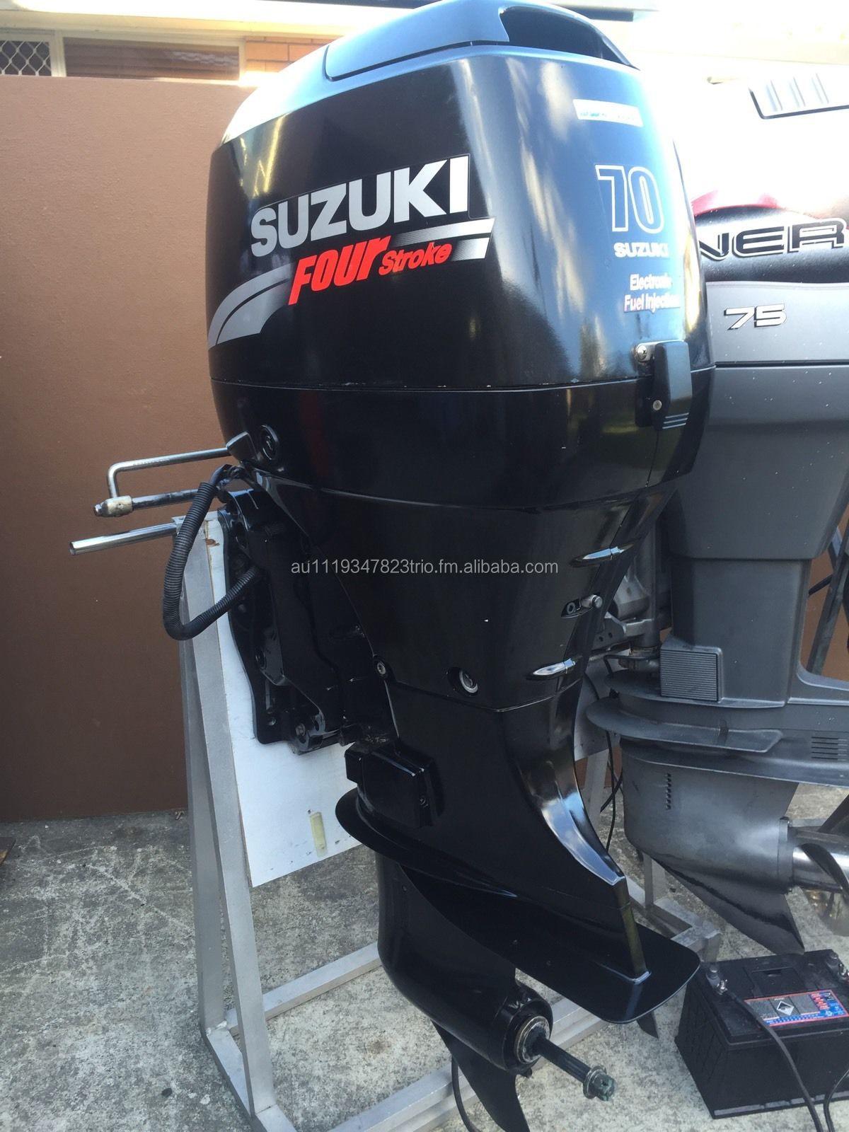 Used Suzuki 70 Hp 4 Stroke Outboard Motor Buy Marine Product On Alibaba Com