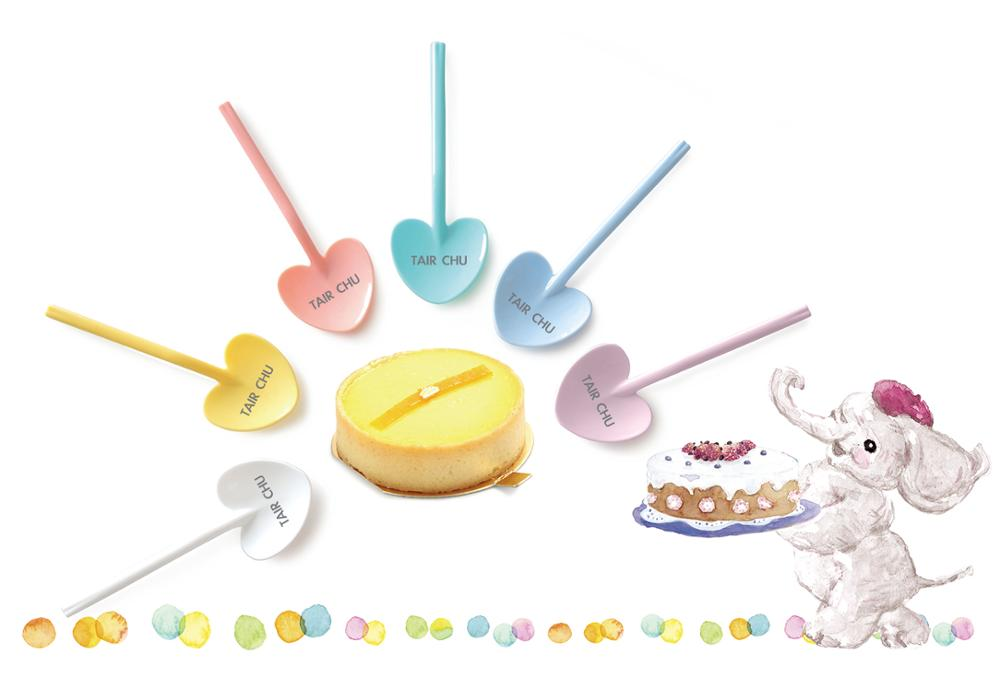 Made in Taiwan HACCP Certified Colorful Plastic Disposable Spoon