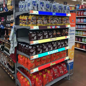 led liquor shelf and bottle display supermarket advertising