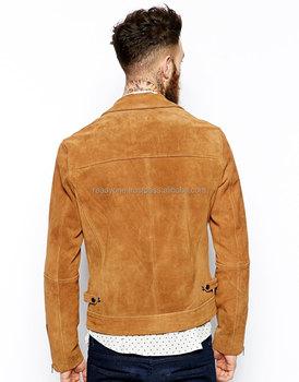 21bf7563d2f9 Handmade Men Tan color Suede Leather Western Cowboy Jacket Men Fringe  jackets