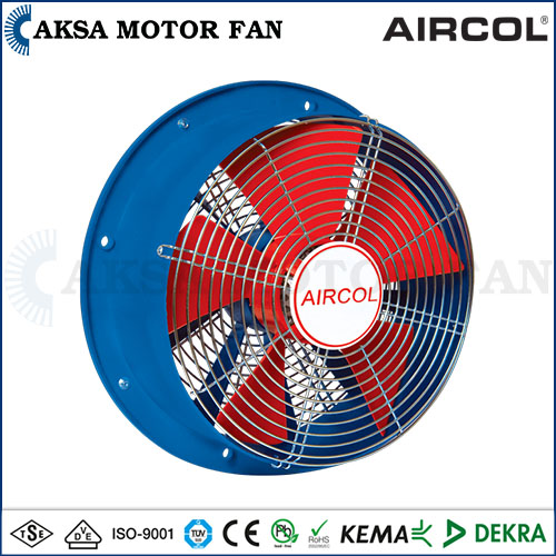 Aircol S SERIES - Industrial Axial Fan - High Quality Aquamid Plastic Reinforced with Glass Fiber