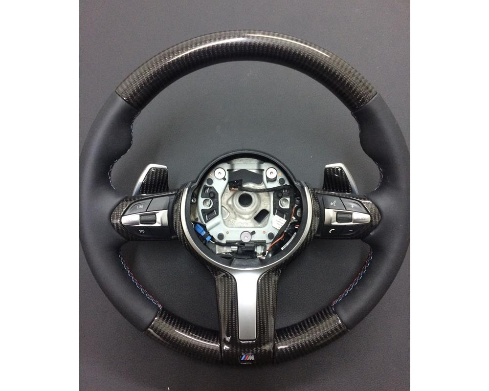NEW OEM Genuine BMW Steering Wheel Cover Trim Black X5 E53 X3 E83 32306778412