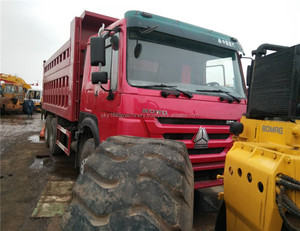 used nissan dump truck howo truck Used original for sale with certificate