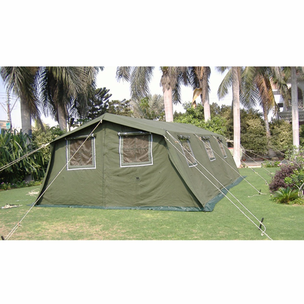 mobile shelter large canvas wall base collective tent outdoor wholesale