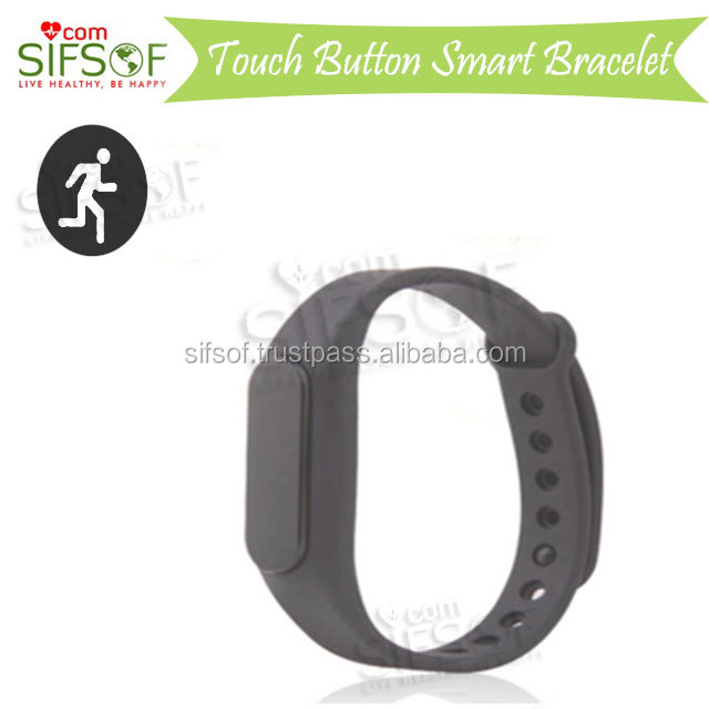 SIFIT-4.6 Multi-point touch Bracelet, BT, Waterproof, The smart key serves as a key to your phone's camera / video shutter.
