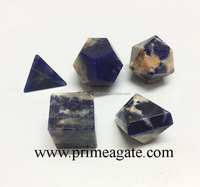Sodalite 5Pc Scared Geometry Sets For Sale | Platonic Solids For Sale