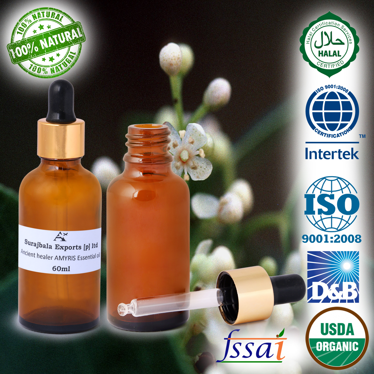 100% Pure Aromatherapie Massage/Energie Blend Essentiële Olie