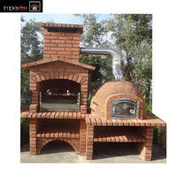 New Style Outdoor Mediterranean Brick Barbecue Ovens for Export Buyer