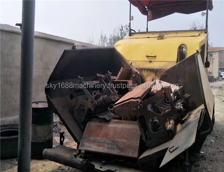 Used Dynapac paver with good condition for selling,paver machine for sale