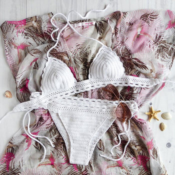 special for shoe beautiful and charming unparalleled White Crochet Bathing Suit Carambola Crochet Bikini Set White Bikini  Crochet Swimsuits Bikini Crochet Swimwear Crochet - Buy Crochet  Bikini,Handmade ...