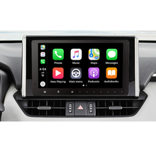 El sistema de entretenimiento de apoyo Apple CarPlay