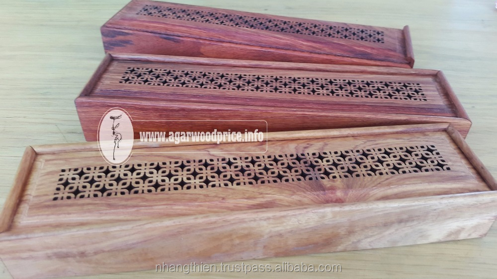 RAMADAN AND NHANG THIEN OUD INCENSE STICK - COMBO OUD SMELL AND WOODEN BURNER FOR THE BEST ENJOYING IN YOUR SPECIAL DAYS