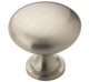 Cabinet Knob 32mm [1-1/4in], multiple international Colors at your choices (Antique Silver, Burnished Brass, Satin Nickel, etc.