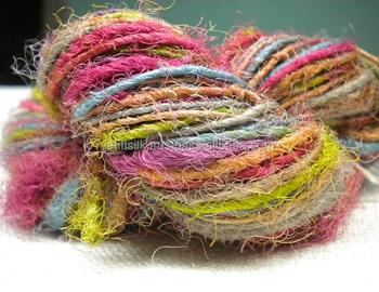 Recycled Sari Silk Yarn - Buy Sari Silk Yarn,Natural Silk Yarn,Silk Yarn  Crochet Product on Alibaba com
