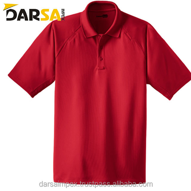 Men Dry Fit Golf Sport Polo T Shirt With Pocket