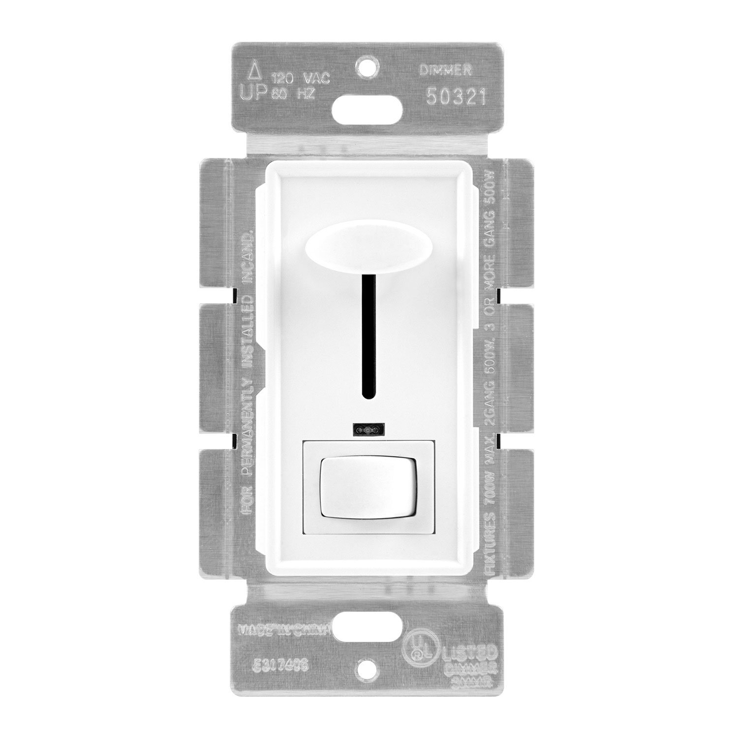 Buy Enerlites 50321 W Sticker Dimmer Switch Toggle By 3 Way To