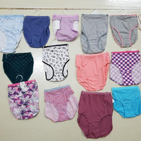 100% Export Quality Bangladesh Garments Stock Lot/Shipment Cancel Comfortable and Well Fitted Ladies Panty