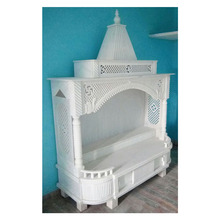 White Marble Home Decorative Indoor Handmade Temple For Home