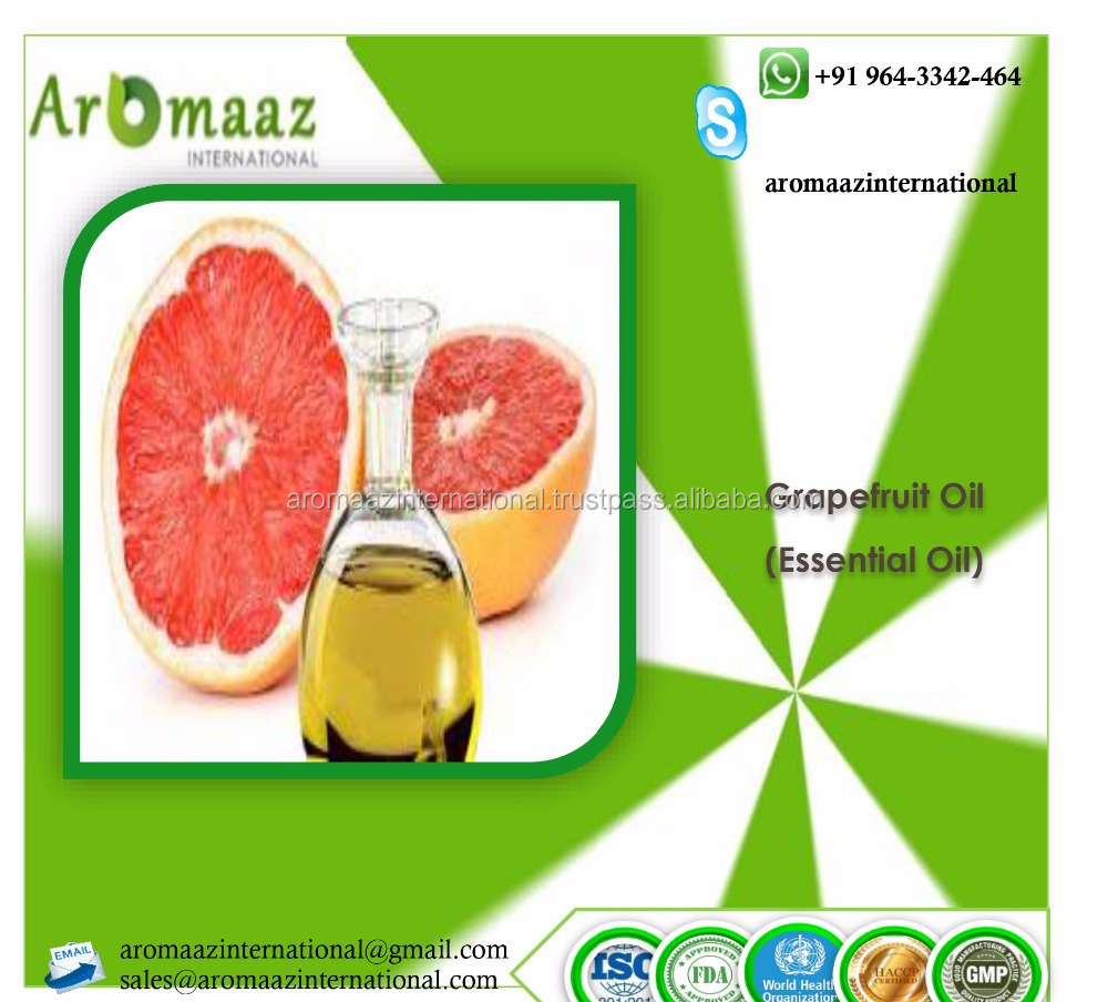 Pure Natural Organic Grapefruit essential oil In bulk Best price With Vitamin C Anti-cellulite Enhance immune system