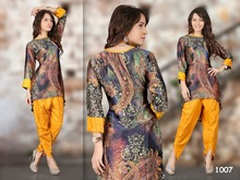 kurti embroidery designs/design long sleeve kurti/FASCINATION