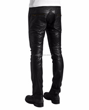 Mens Leather Fashion Pants