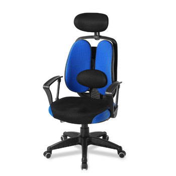 Office Chair With Dual Backrest - Buy Office Chairs With Lumbar  Support,Office Chairs With Neck Support,Ergonomic Office Chair Product on  Alibaba.com