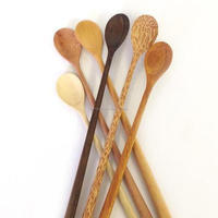 Wooden Spoon Set, Bamboo Tea, Baby spoon