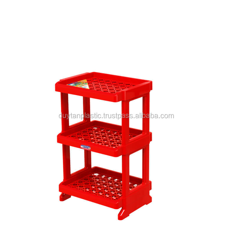 Plstics PP Shelf DANA 3 drawers - No.1057/3 - tangkimvan(at)duytan(dot)com - DUY TAN PLASTICS