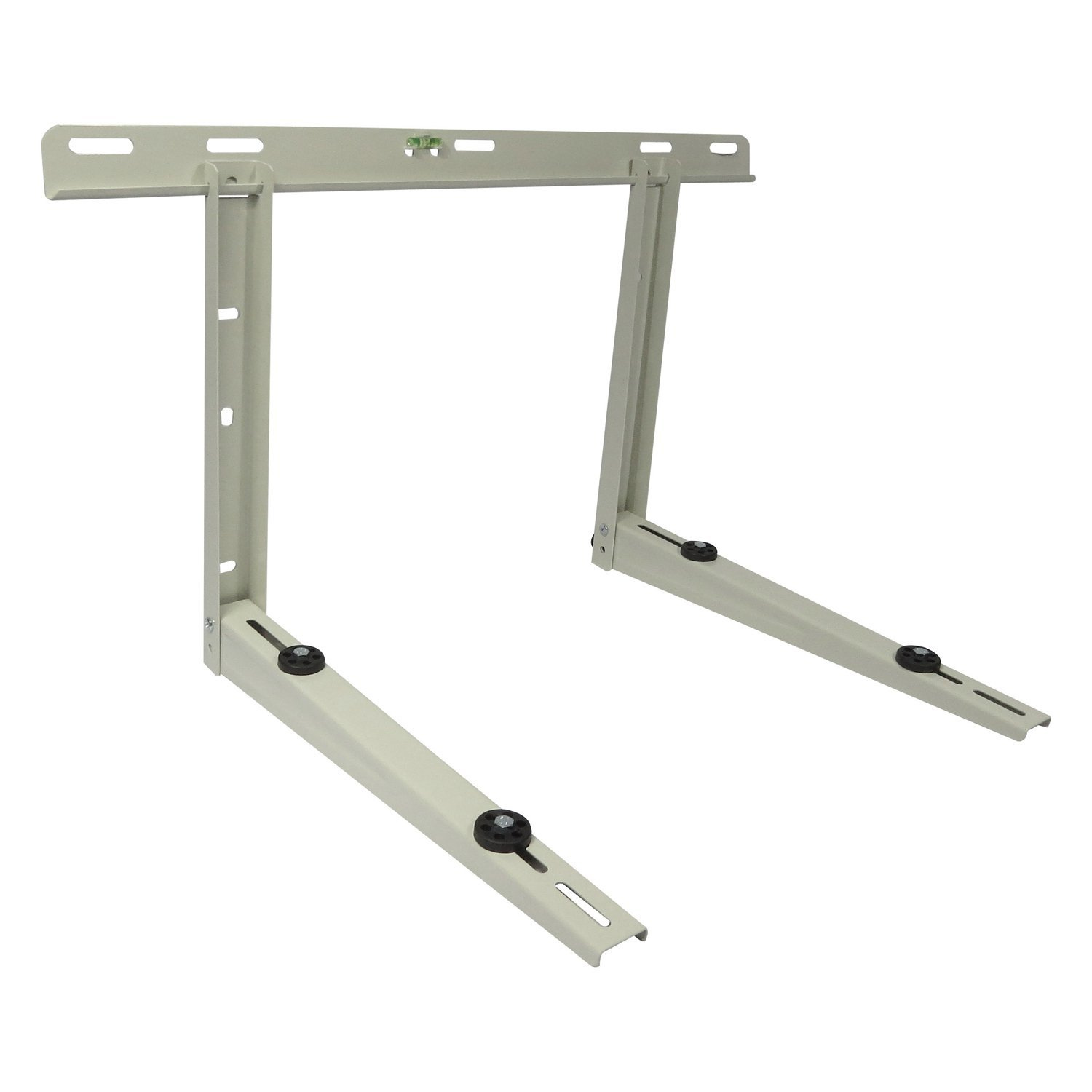 Mini Split Wall Bracket - Ductless Heat Pump Support - Condenser Mounting Rack for Air Conditioner. Painted Steel – Supports 9000 Btu to 36000 Btu Mini Split Systems