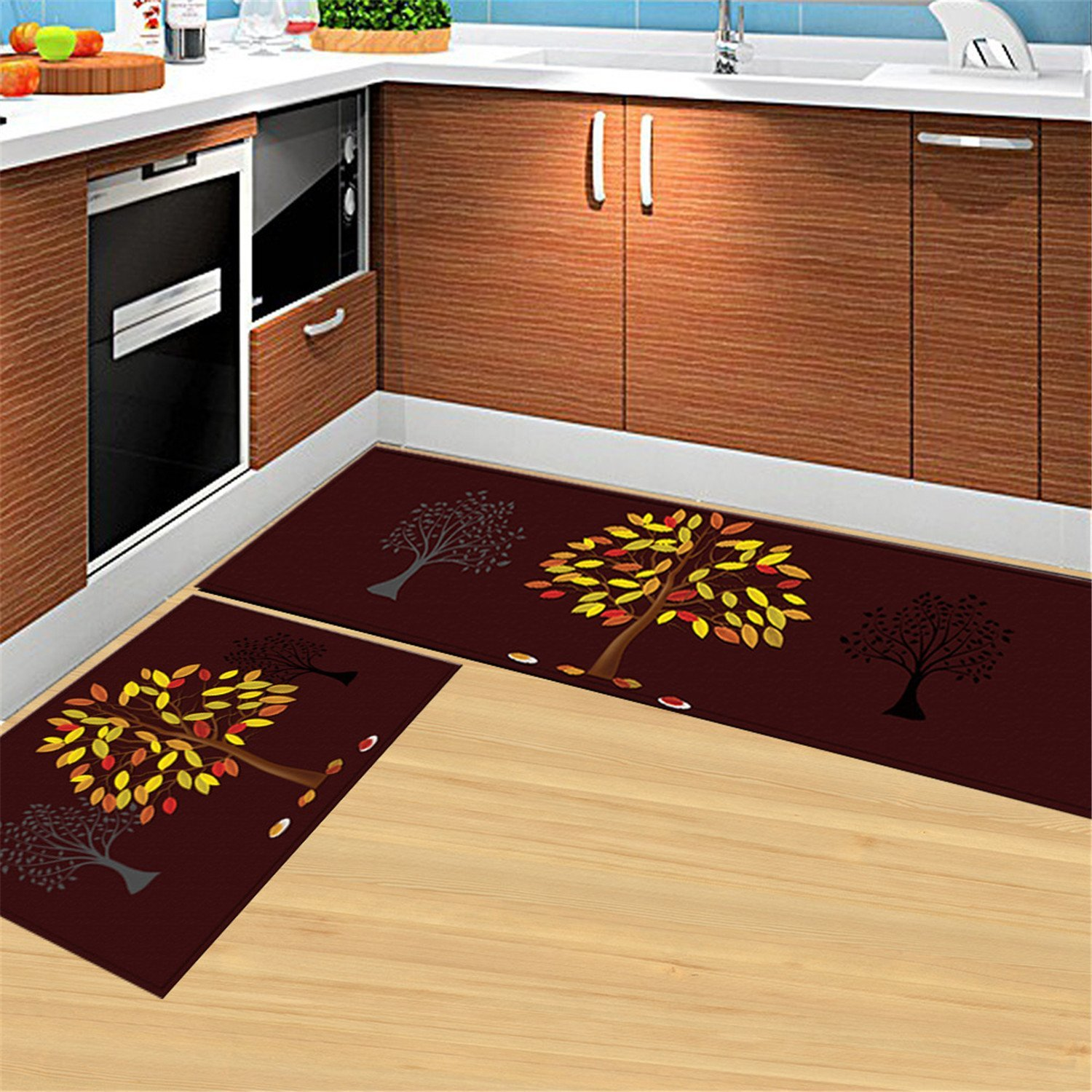 Get Quotations Anti Bacterial Rubber Back Home And Kitchen Rugs Non Skid Slip Decorative