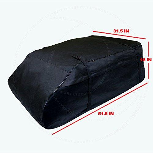 LT Sport SN#100000001139-201 for Acura Aerodynamic Roof Top Waterproof Storage Cargo Bag