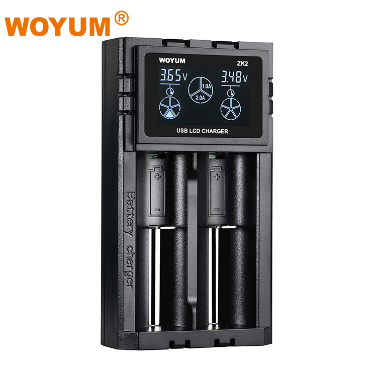 Phổ aaa aa 18650 14500 10440 12 v 2a lithium Ion đa battery charger