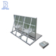 Aluminum alloy bolt connection metal concert crowed control barrier fence