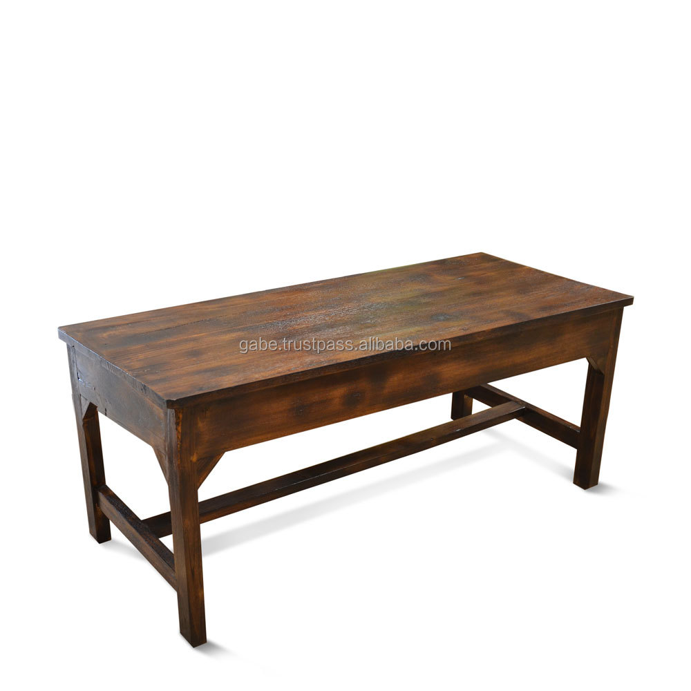 table basse teck ancien