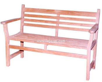 Indonesia Teak Outdoor Furniture - Java Bench 2 Seater Jepara Furniture