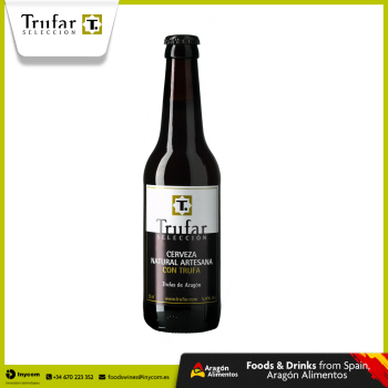 Craft beer with Black Truffle Tuber Melanosporum | TRUFAR Seleccion