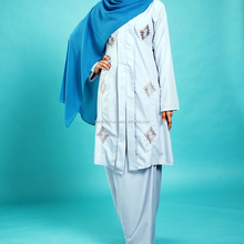 Kebaya Kebarung Malaysia Fashion Islamic Dress Muslimah Baju Kurung Printed Modern Trend Wholesale Jilbab XXS-15XL HOT ITEM