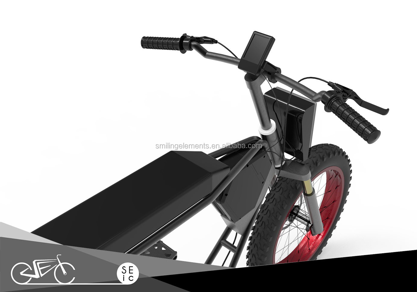 New design 20x4 inch 250/500/750w  fat e-bike electric bicycle with fat tire