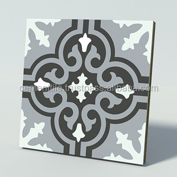 CTS 1.15 Encaustic cement tile made in Vietnam high quality export to USA