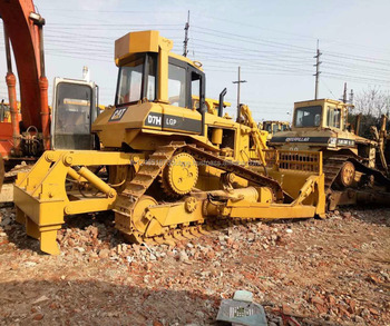 Second Hand/used Bulldozer Cat D7h With Ripper /caterpillar D5 D6 D7 D8  Bulldozer /cat D6d D6g D7g D8k Track Dozer Low Price - Buy Cheap Second  Hand