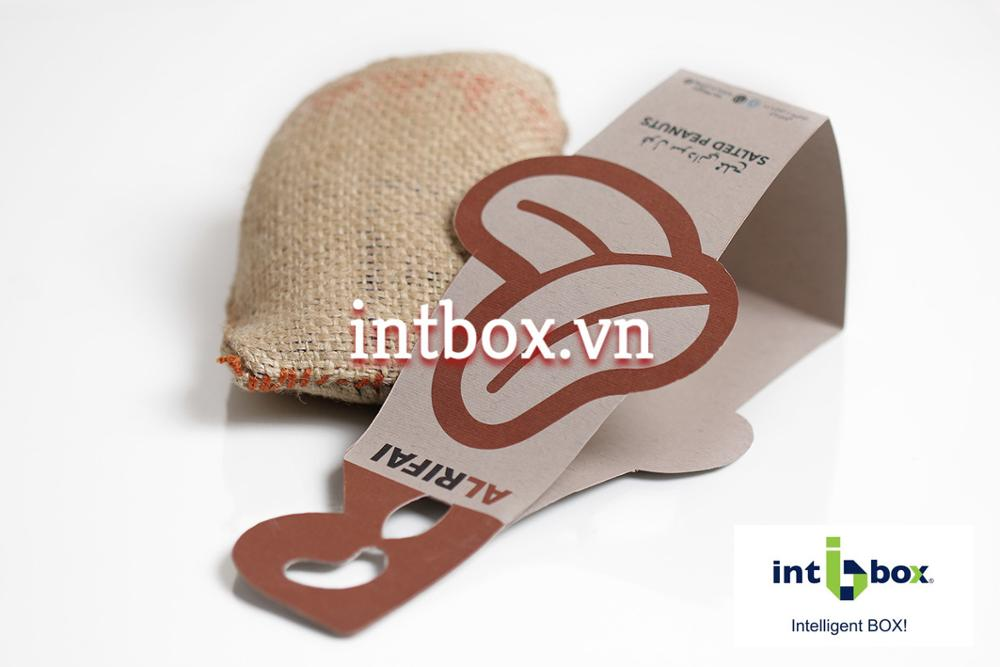Paper Tag, Paper Handle Cover Packaging Bag Custom Design