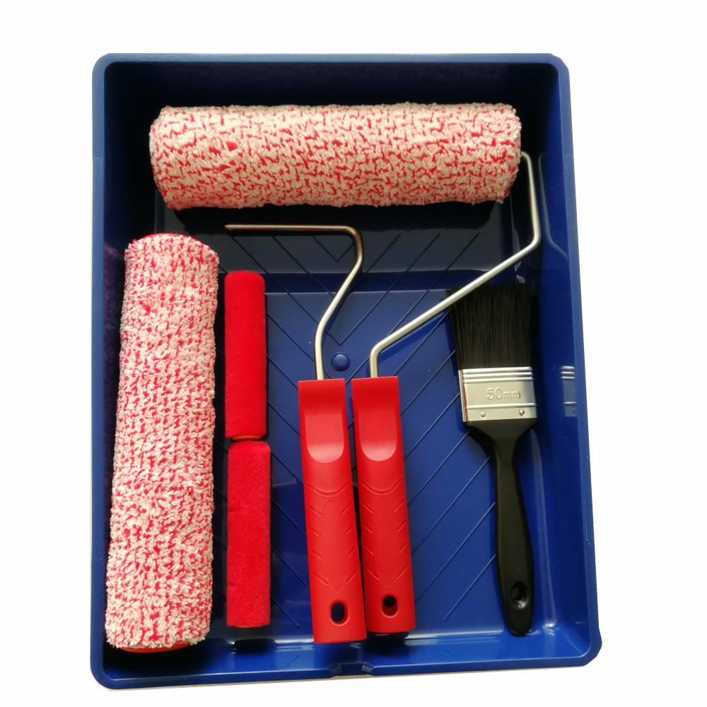 Дешевая скорость живопись инструменты мм 230 мм лоток набор с роликом и щеткой