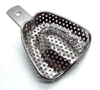 Dental Sold Impression Trays with out rim lock