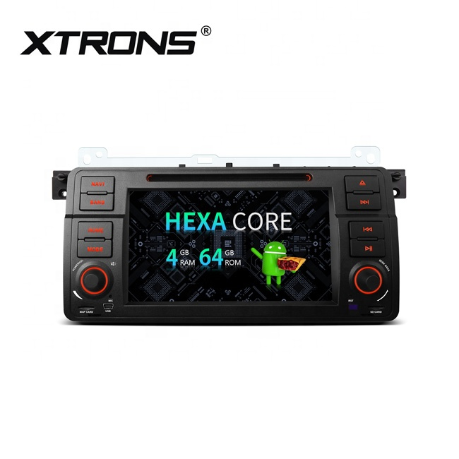 XTRONS Android 9 0 single din 7 inch car DVD player for BMW E46/Rover/MG  with HDMI Port, car stereo Bluetooth, View car DVD player for bmw e46,  Xtrons