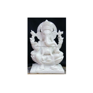 Decorative Antique Marble God Lord Shivputra Murti