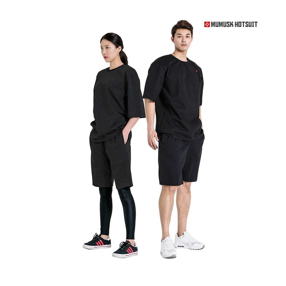 High Quality Best Selling Hotsuit G2 Round Short Black Sauna Suit Set Weight Loss Exercise Fitness Workout Buy Mens Cotton Workout Shorts Unisex