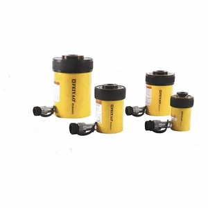 RCH-series plunger single acting hollow hydraulic jacks