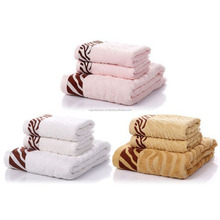 Tiger stripe soft terry towels bath spa beach men and women towels RC-Ah05